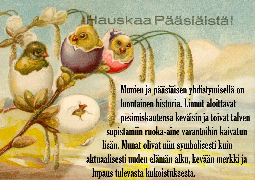 pääsiäisen perinnetietotaulu